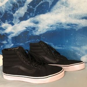 vans black skate his